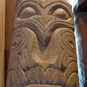 Totem Model Carving